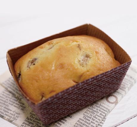 バナナのパウンドケーキ ハーフサイズ